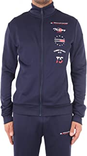 Tommy Hilfiger Graphics Track Jkt Men's Sweatshirt S20S200317 CBK Sport Navy