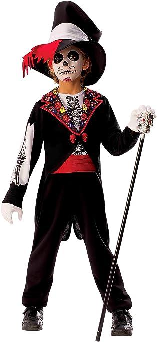 Rubies- Disfraz Catrin Boy Inf, Multicolor, M (5-7 años) (700466-M)