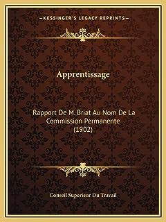 Apprentissage: Rapport De M. Briat Au Nom De La Commission Permanente (1902)