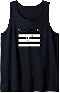Straight Pride Flag For A Proud Heterosexual Person Tank Top