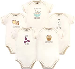 Touched by Nature Baby Organic Bodysuits 5pk