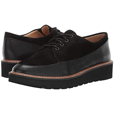 Naturalizer Auburn (Black Tumble Leather/Suede) Women