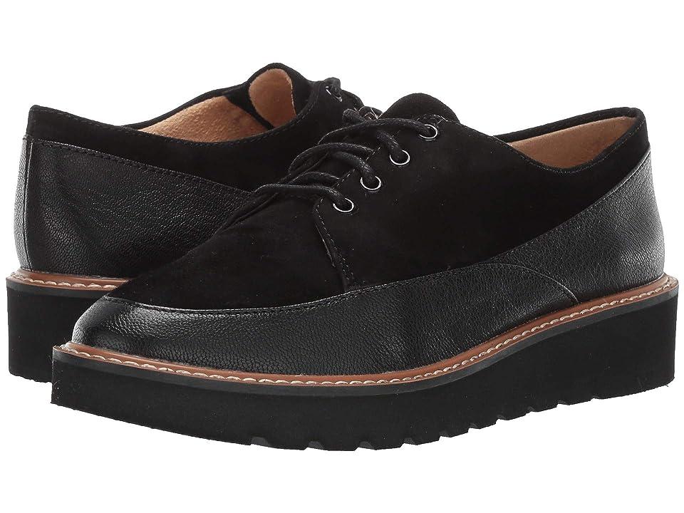 Naturalizer Auburn (Black Tumble Leather/Suede) Women
