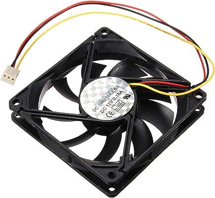 80x80x15mm 3 Pin 12V CPU Raffreddamento ventola raffreddamento PC PC Heatsink - Confronta prezzi