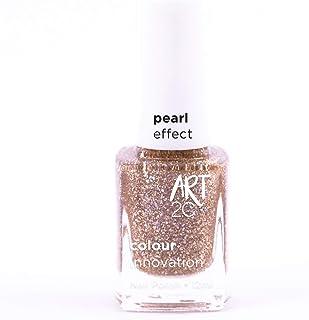 Art 2C Brilliant Inside Diamond & Pearl Effect Nail Polish - Smalto per unghie effetto diamante e perla, 6 colori, 12 ml, ...