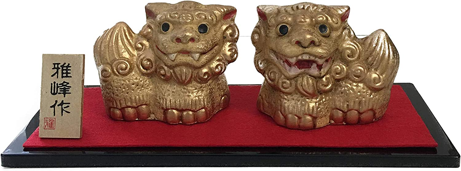 K300 Japanese Lucky Max 47% OFF Item SHISA Ornaments. Lion Mini-Sized Decora Ranking TOP13