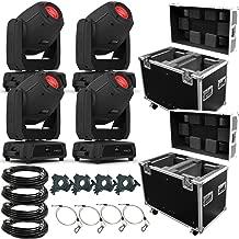 (4) Chauvet DJ Intimidator Spot 475Z Moving Head Spots & Road Case Package