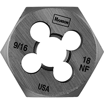 for Tap Die Extraction Hanson 6852 Die 5//8-11 1 7//16 NC Sh
