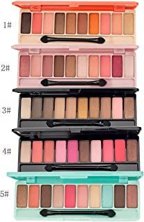 Walaha 10 Colors James Charles Nude Shimmer Matte Eyeshadow