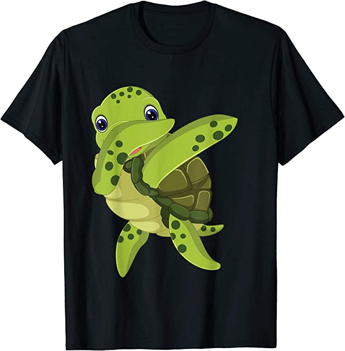 'Dabbing Sea Turtle' Funny Dabbing Animal Gift Shirt