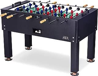 KICK Onyx 55″ in Black Foosball Table