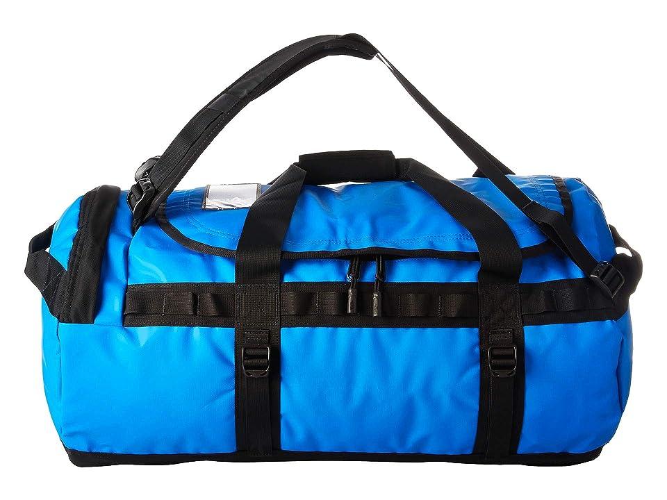 The North Face Base Camp Duffel - Medium (Bomber Blue/TNF Black) Duffel Bags, Multi