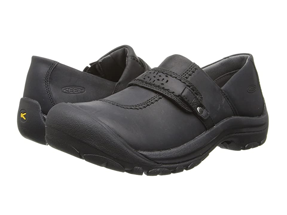 Keen Kaci Full Grain Slip-On (Black) Women