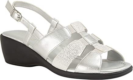 0355b92f4b Lotus Silver Mississippi Sling-Back Sandals