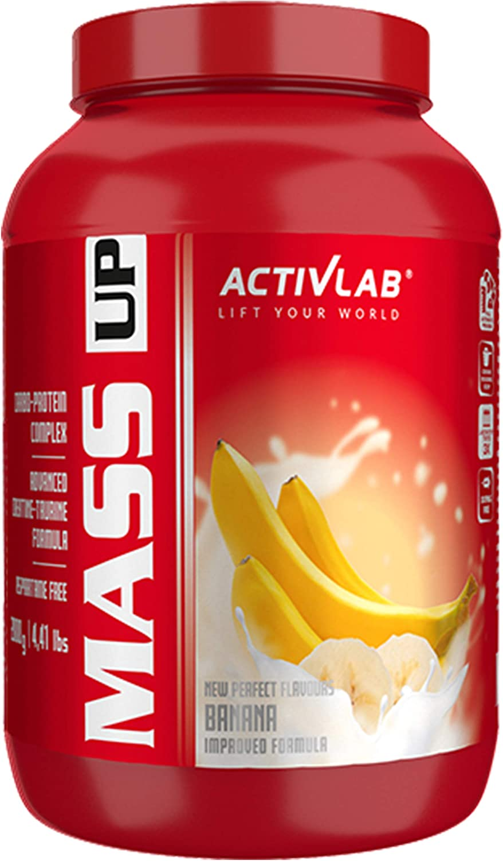 Activlab Mass Up Paquete de 1 x 2000 g Gainer – Carbohidratos con Concentrado de Proteína de Suero y Creatina - Ganancia Muscular Polvo (Banana)