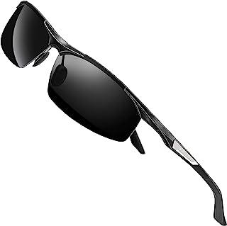 Men's Sunglasses Polarized Sport Glasses for Golf Fishing...