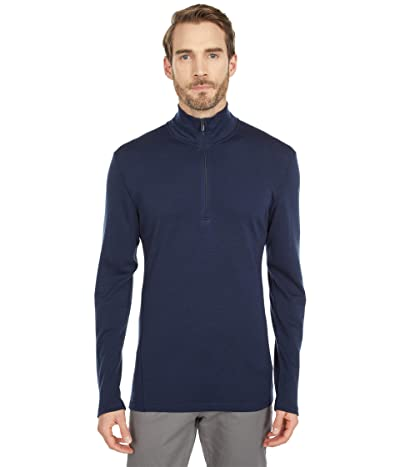 Smartwool Merino 250 Base Layer 1/4 Zip (Deep Navy) Men