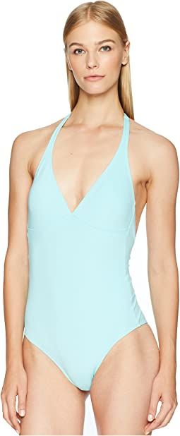 Solid Water Fames Swimsuit