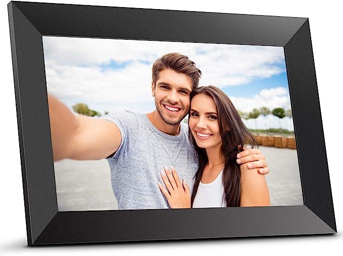 90 opinioni per Bqeel Cornice digitale foto 10.1 pollici con IPS HD Display Cornice OS Android