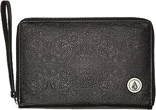 Volcom Women's Kaleidostone Wallet Pu Black