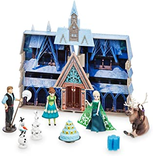 Disney Store Frozen Fever Water Color Changing Playset