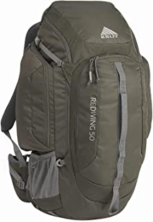 Kelty Redwing 50 Backpack - Hiking, Backpacking, Travel & Everyday Carry Backpack with Laptop Sleeve, Hydration Compatible, Removable Hip Belt, Carry On Bag