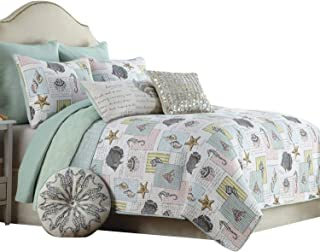 Brandream Ocean Bedding Set Seashells, Beach Themed, Nautical Bedding Queen Comforter Set