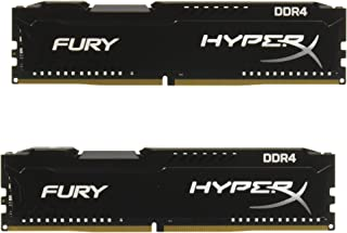 キングストン HX429C17FB2K2/16 8GBx2枚 DDR4 2933MHz CL17 1.2V HyperX Fury Black OC Unbuffered DIMM PC4-23400