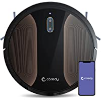 Coredy R580 Wi-Fi, App Controls, 2000pa Strong Suction,Virtual Boundary Supported Robot Vacuum Cleaner