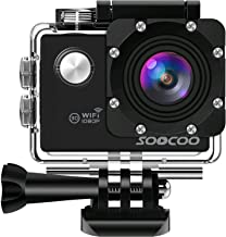 WIFI Action Camera, SOOCOO Sports Video Camera Waterproof 12MP Full HD 1080P 2.0