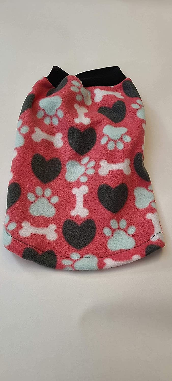 ObiBed Soft Warm Fleece Dog and Paws Max 68% OFF shop Peachy Coat Bones