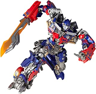 Revoltech Transformers 3 Dark the Moon SciFi Super Poseable Action Figure Optimus Prime