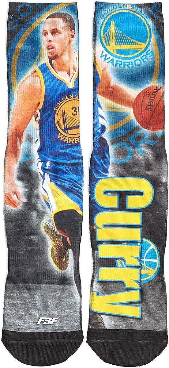 Golden State Warriors Large discharge sale NBA Drive Crew - Pair Socks Curr Brand Cheap Sale Venue Stephen 1