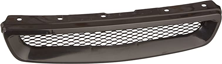 Spec-D Tuning HG-CV96TR Honda Civic Ex Dx Lx Black Type R Style Metal Mesh Front Hood Grille