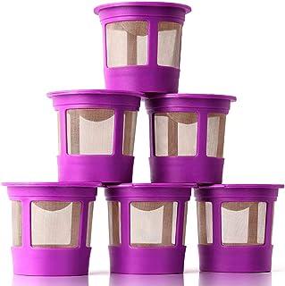 Sponsored Ad - GoodCups 6 Reusable K Cups for Keurig K-Duo, K-Classic, K-Elite, K-Select, K-Cafe, K-Compact, K200, K300, K...
