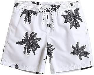 MaaMgic Mens Boys Short Swim Trunks Mens Bathing Suits Slim Fit Swim Shorts Quick Dry Swimsuit for Men