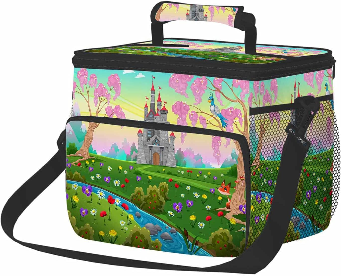 Beabes Fairytale Castle Insulated Tampa Mall Cooler Lunch Castl wholesale Cartoon Bag