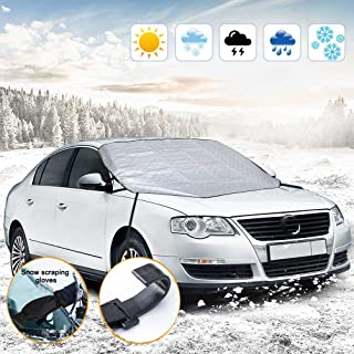 SZFREE Car Windscreen Cover Sunshade Front Window Snow Cover Thickening External Sun Block Anti-Freezing Snowproof UV Cover