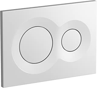 KOHLER K-75890-0 Lynk Flush Actuator Plate for 2