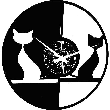 Puckator Witching Heure Chat Lisa Parker Design Horloge Murale