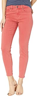 Women's Penny Ankle Skinny Jeans in Mineral Red Mineral Red