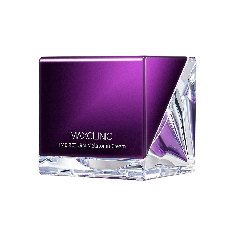 [MAXCLINIC] Time Return Melatonin Cream - Rich Melatonin Night Sleep Cream with Cherry, Celery Water 55g / 1.94 oz