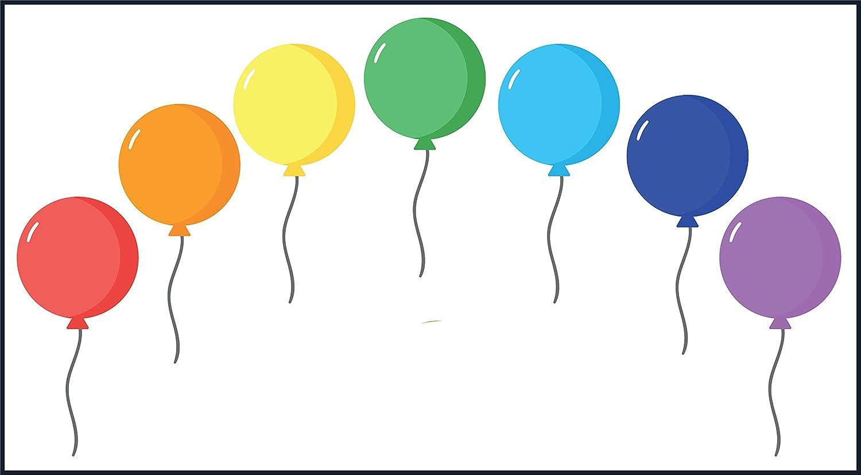 Amazon Com Divine Designs Colorful Birthday Celebration Cartoon Balloons Vinyl Decal Sticker 12 Wide 6 Automotive Hello kitty large balloon 45 cartoon toy for birthday party wedding supplies. divine designs colorful birthday