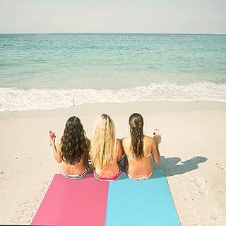 bedee Toallas de Playa,Toalla Playa Fijo para la Playa, Picnic, Acampa y Otra Actividad al Aire Libre Toalla Playa(200 x 100CM Rosado)