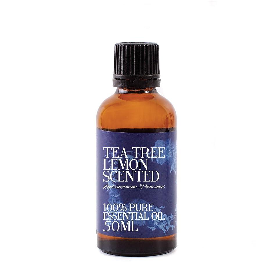 分解する全く保存Mystic Moments | Tea Tree Lemon Scented Essential Oil - 50ml - 100% Pure