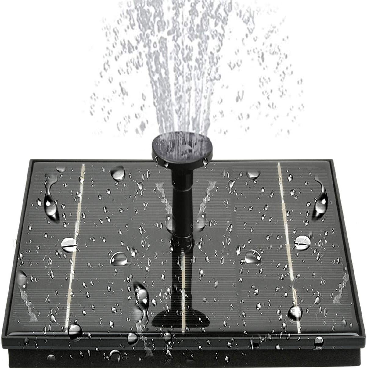 HooYan New mail order Solar Ranking TOP4 Fountain Pump 4W Powered Birdbath Pu
