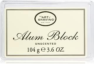 The Art of Shaving Unscented Alum Block, 3.6 OZ