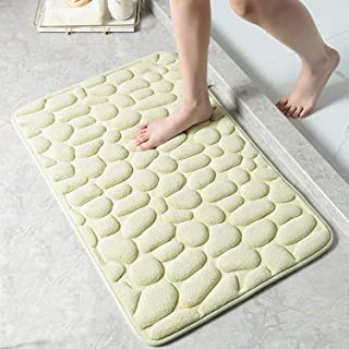 Decorus Bath Mats Non Slip Bath Rug for Bathroom Super Absorbent Soft Microfiber Shaggy Bathroom Mat Machine Washable Bath...
