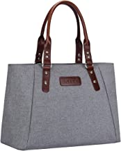 S-ZONE Women Handbags Lightweight Large Work Tote Bag Casual Shoulder Purse