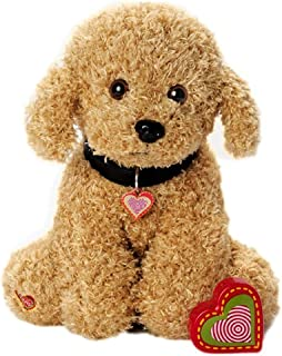 My Baby's Heartbeat Bear Furbaby's: Doodle Stuffed Animal with 20 Second Voice Recordable Heart - Doodle
